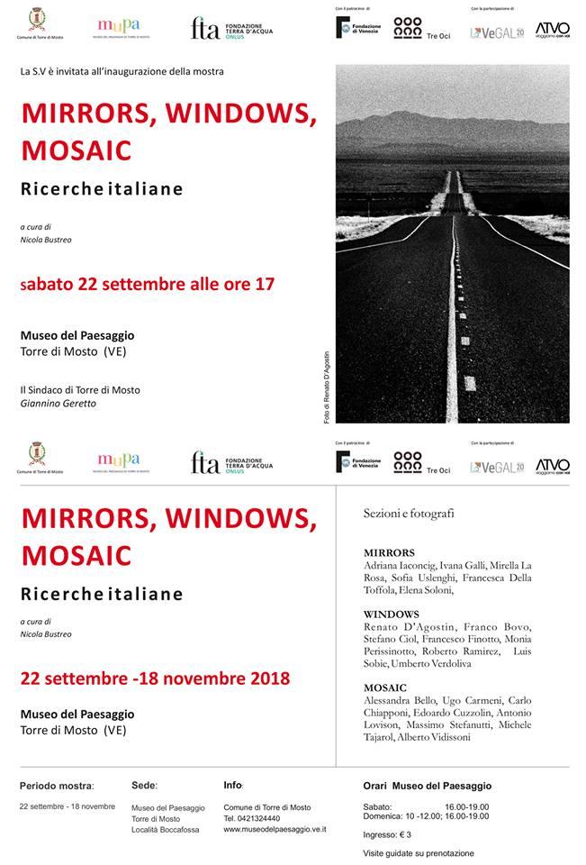 Mostra Mirrors Windows Mosaic